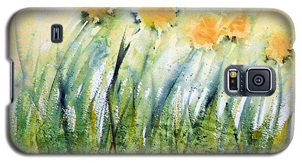 Dandelions In The Grass Galaxy S5 Case