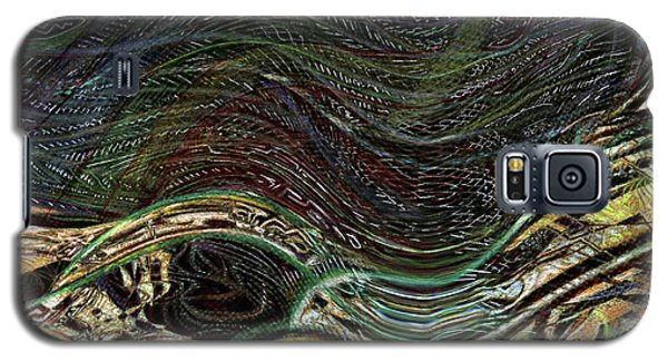 Dark Rainbow Galaxy S5 Case