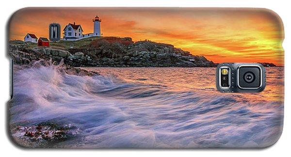 Dawn At Cape Neddick Lighthouse Galaxy S5 Case