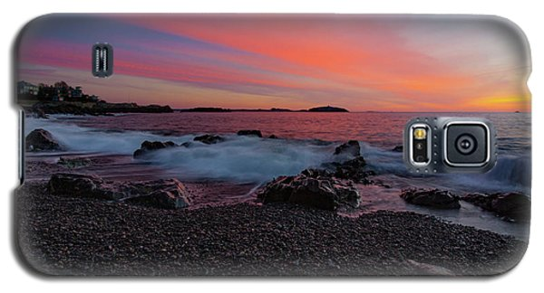 Dawn At Castle Rock On Marblehead Neck Galaxy S5 Case