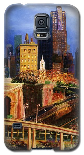 Dawn At City Hall Galaxy S5 Case