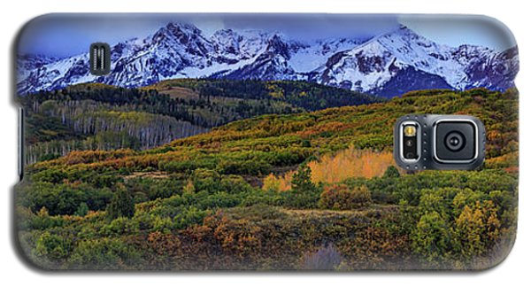 Dawn At The Dallas Divide Panoramic Galaxy S5 Case