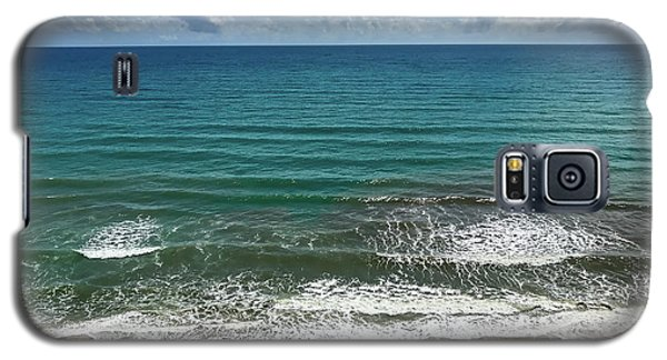 Day At The Beach Galaxy S5 Case