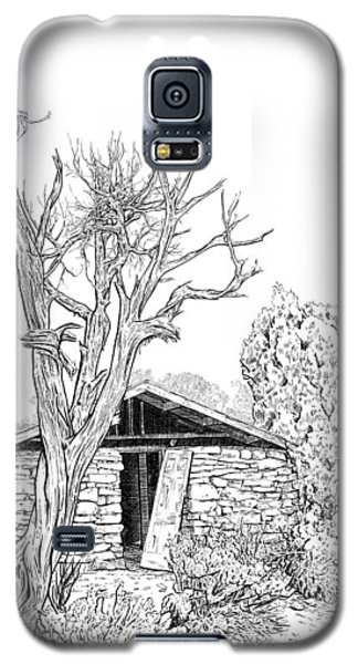 Decay Of Calamity The Half Life Of A Dream Black And White  Galaxy S5 Case