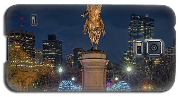 December Evening In Boston's Public Garden Galaxy S5 Case