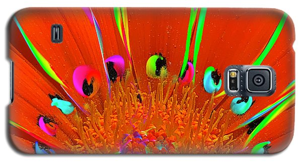 Deep Coral Bloom  Galaxy S5 Case