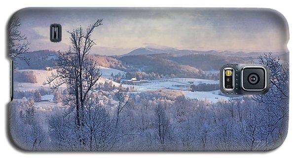 Deer Valley Winter View Galaxy S5 Case