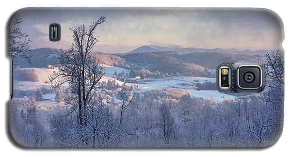 Deer Valley Winter View Galaxy S5 Case