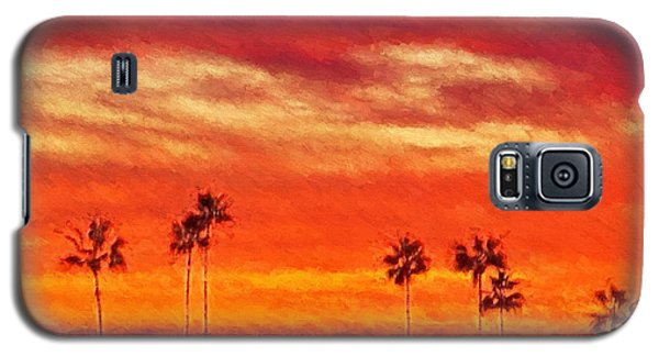 Del Mar Sunset Galaxy S5 Case