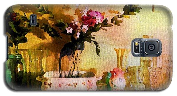 Delicate Flowers Galaxy S5 Case