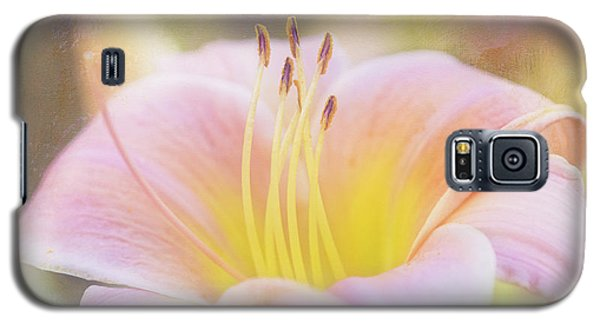 Delicate Pink Daylily Galaxy S5 Case