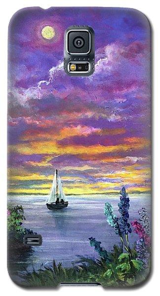 Delphinium Dreams Galaxy S5 Case