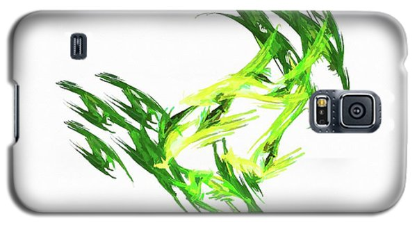 Deluxe Throwing Star Green Galaxy S5 Case