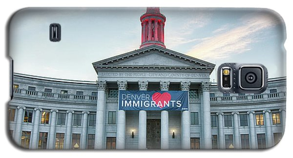 Denver Loves Immigrants Galaxy S5 Case