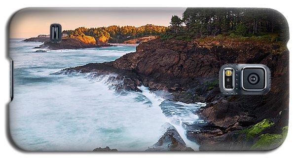 Depoe Bay Sunrise Galaxy S5 Case