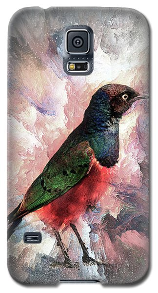 Desaturated Starling Galaxy S5 Case