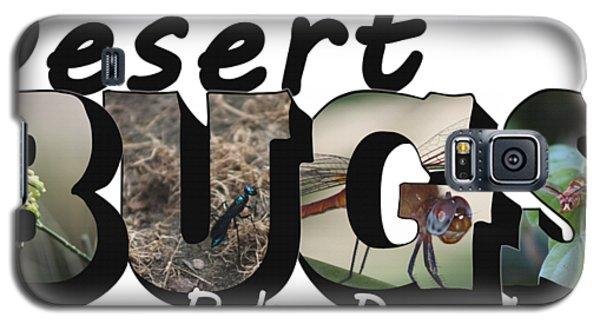 Desert Bugs Big Letter Galaxy S5 Case
