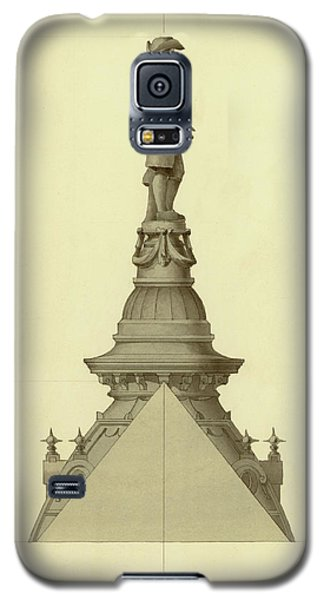 Design For City Hall Tower Galaxy S5 Case