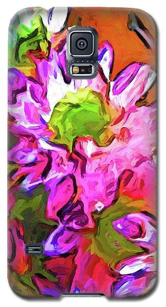 Diagonal Of Daisies Galaxy S5 Case