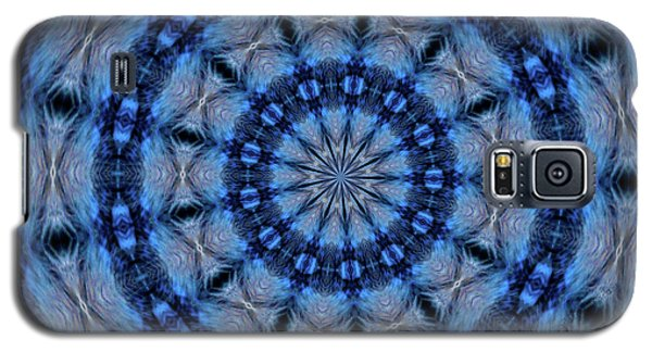 Blue Jay Mandala Galaxy S5 Case