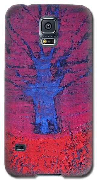 Disappearing Tree Original Painting Galaxy S5 Case