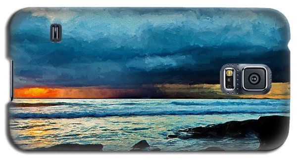 Distant Rain Clouds Galaxy S5 Case