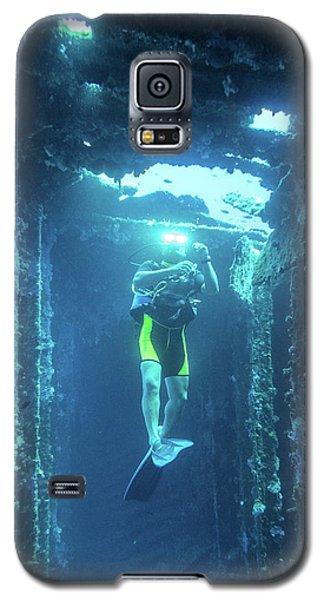 Diver In The  Galaxy S5 Case