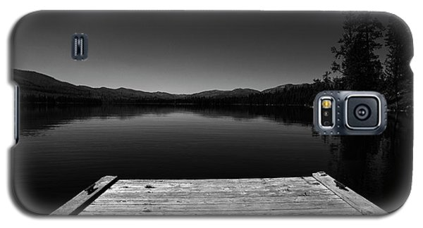 Dock At Dusk Galaxy S5 Case