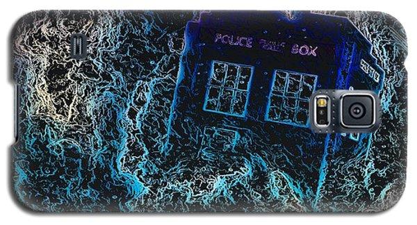 Doctor Who Tardis 3 Galaxy S5 Case