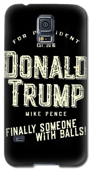 Donald Trump Mike Pence 2016 Vintage Galaxy S5 Case