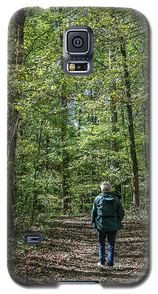 Donna At Heron Pond Galaxy S5 Case