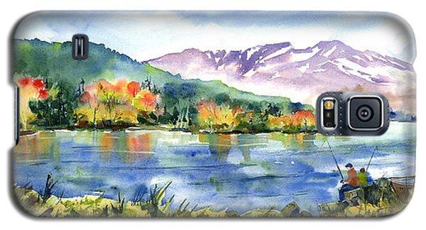 Donner Lake Fisherman Galaxy S5 Case