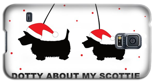 Dotty About My Scottie - Xmas Galaxy S5 Case
