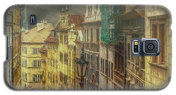 Downhill, Downtown, Prague Galaxy S5 Case