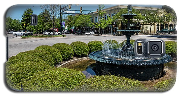 Downtown Aiken Sc Fountain Galaxy S5 Case