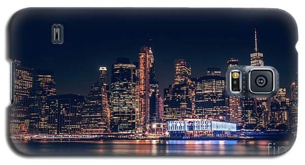 Downtown At Night Galaxy S5 Case