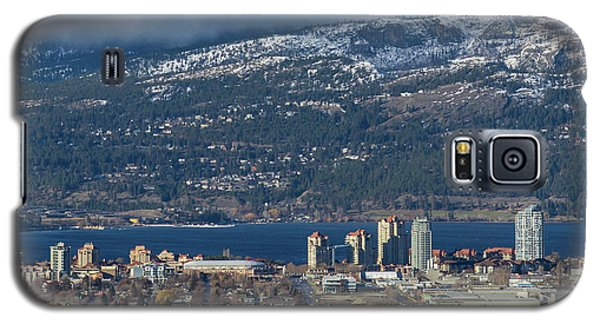 Downtown Kelowna From Dilworth Galaxy S5 Case