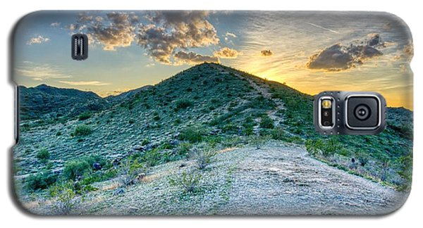 Dramatic Mountain Sunset Galaxy S5 Case