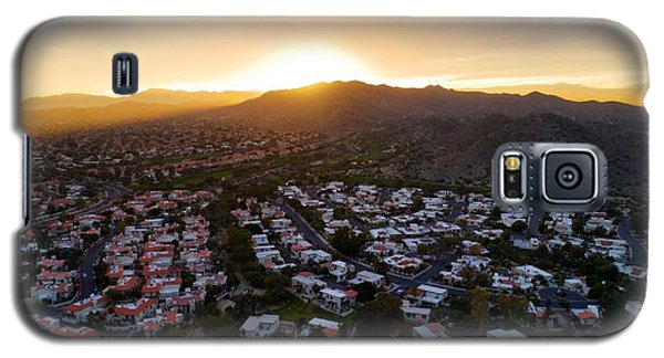 Dramatic South Mountain Sunset Galaxy S5 Case