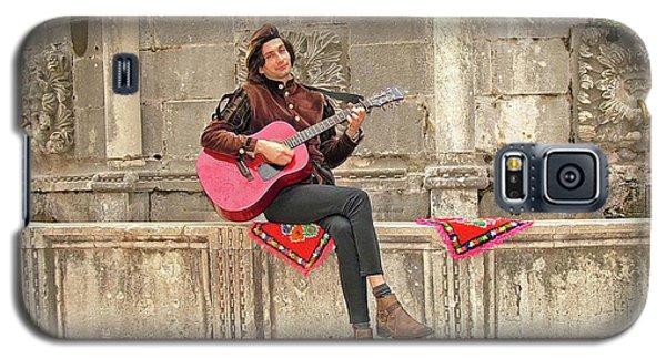 Dubrovnik Street Musician Galaxy S5 Case