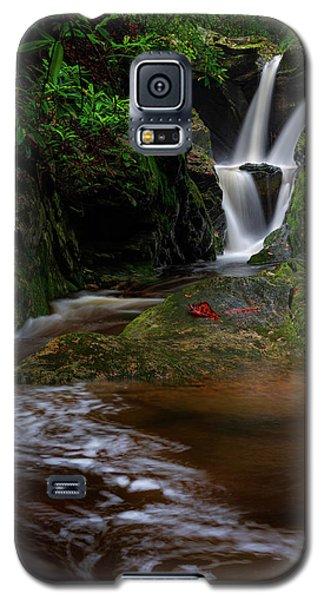 Duggers Creek Falls - Blue Ridge Parkway - North Carolina Galaxy S5 Case