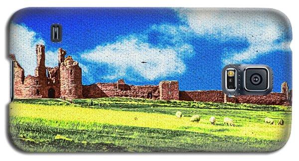 Dunstanburgh Castle In Oil Galaxy S5 Case