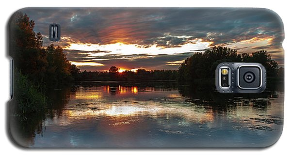 Dusk Aquarelle Galaxy S5 Case