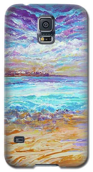 Dusk At The Beach Galaxy S5 Case