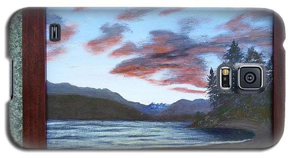 Dutch Harbour, Evening Sky Galaxy S5 Case