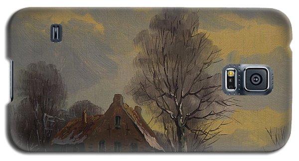 Dutch Snow Landscape Galaxy S5 Case