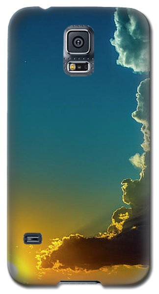 Dying Nebraska Thunderstorms At Sunset 068 Galaxy S5 Case