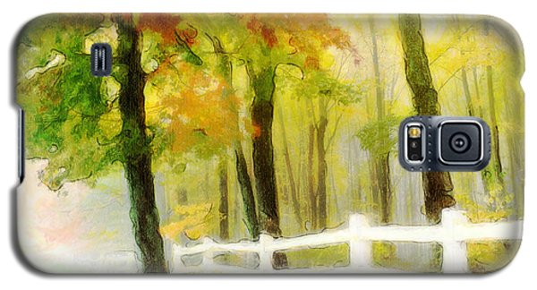 Early Autumn Morning Galaxy S5 Case