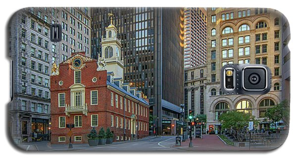 Early Morning At The Old Statehouse Galaxy S5 Case