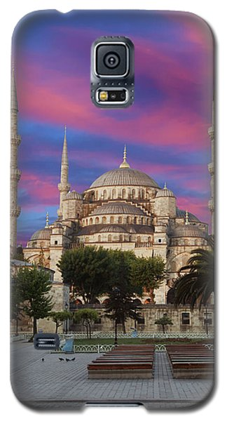 Early Morning Light On  Sultan Ahmet Camii Galaxy S5 Case